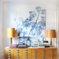 Emma Sjödin Wall Hanging blue