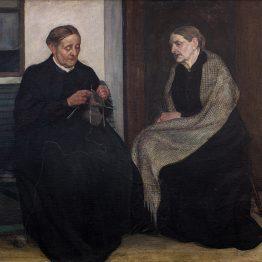 Ester Almqvist, Systrar,1907. Malmö Konstmuseum. Foto Mats Arvidsson