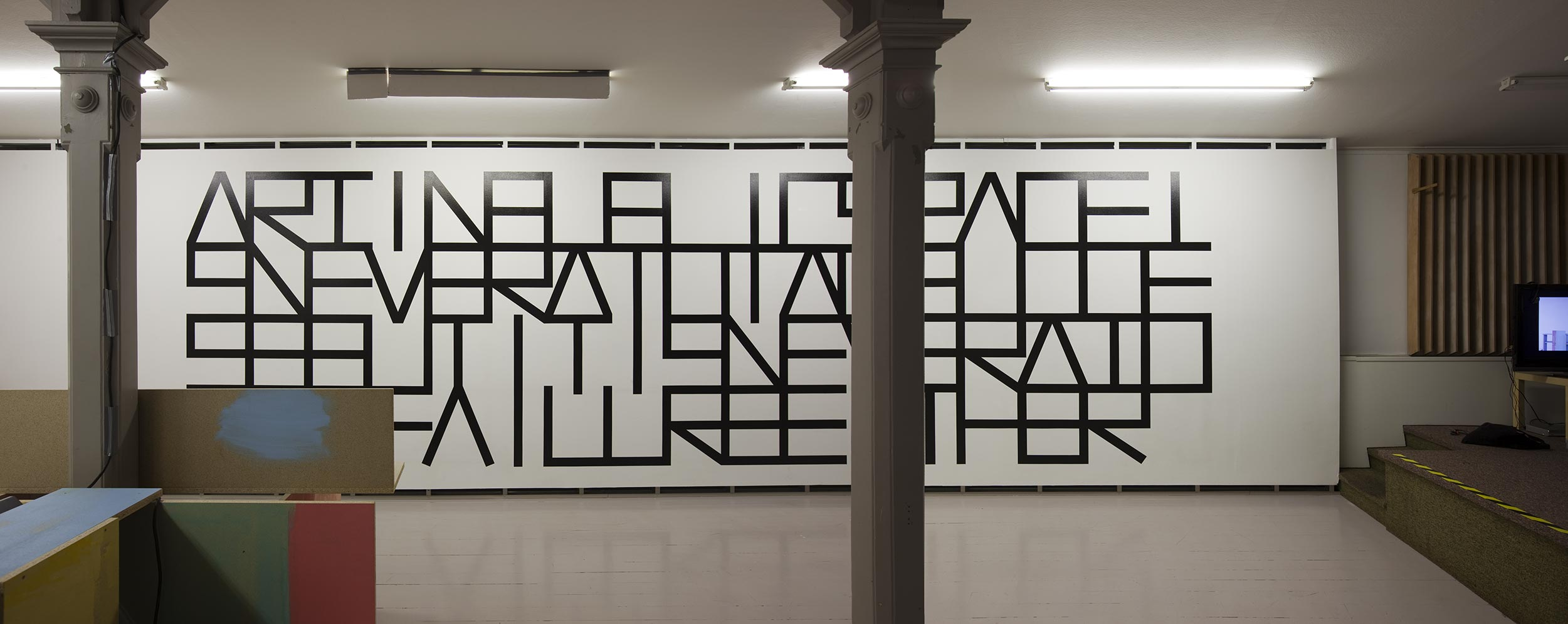 Thomas Elovsson, Art in Public Space is Never a Total Success but it is Never a Total Failure Either, 2009. Foto: Jean-Baptiste Béranger