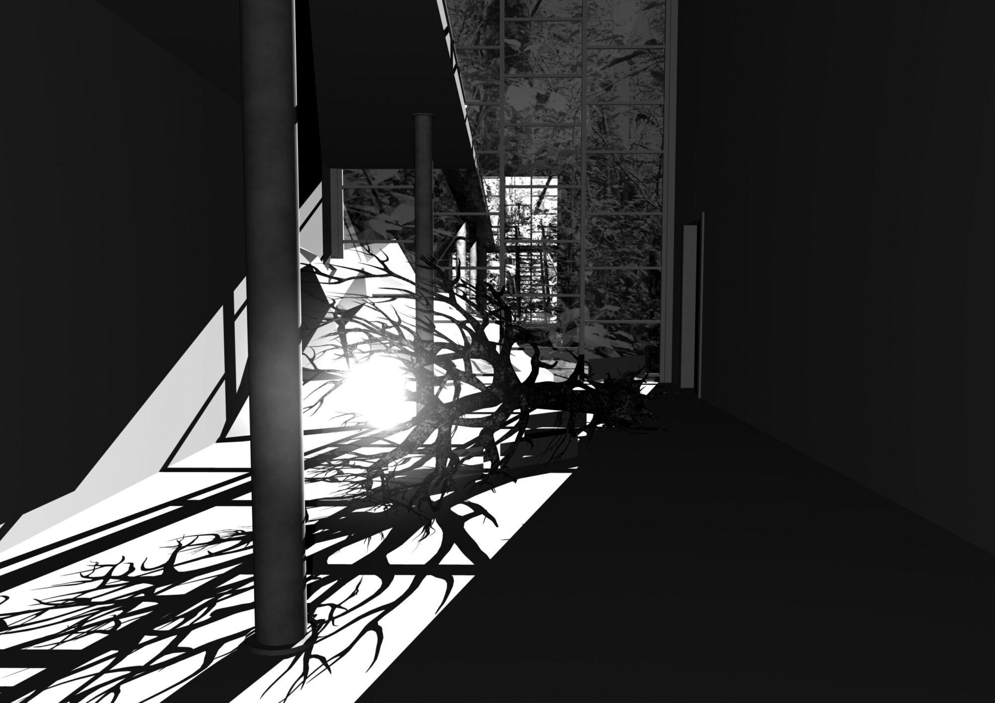 Ann Lislegaard, Crystal World (after J. G. Ballard), 3D animation, 2006