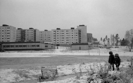 Tensta 1971, foto Holger Ellgaard