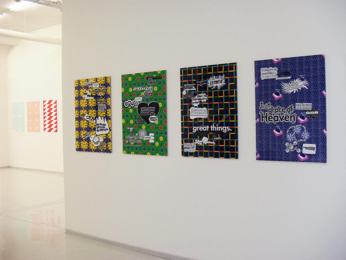 Peter Thörneby och Fredrik Holmqvist, Gratis Designs Bauhausmanifesto and 10-gruppen patterns, 2000