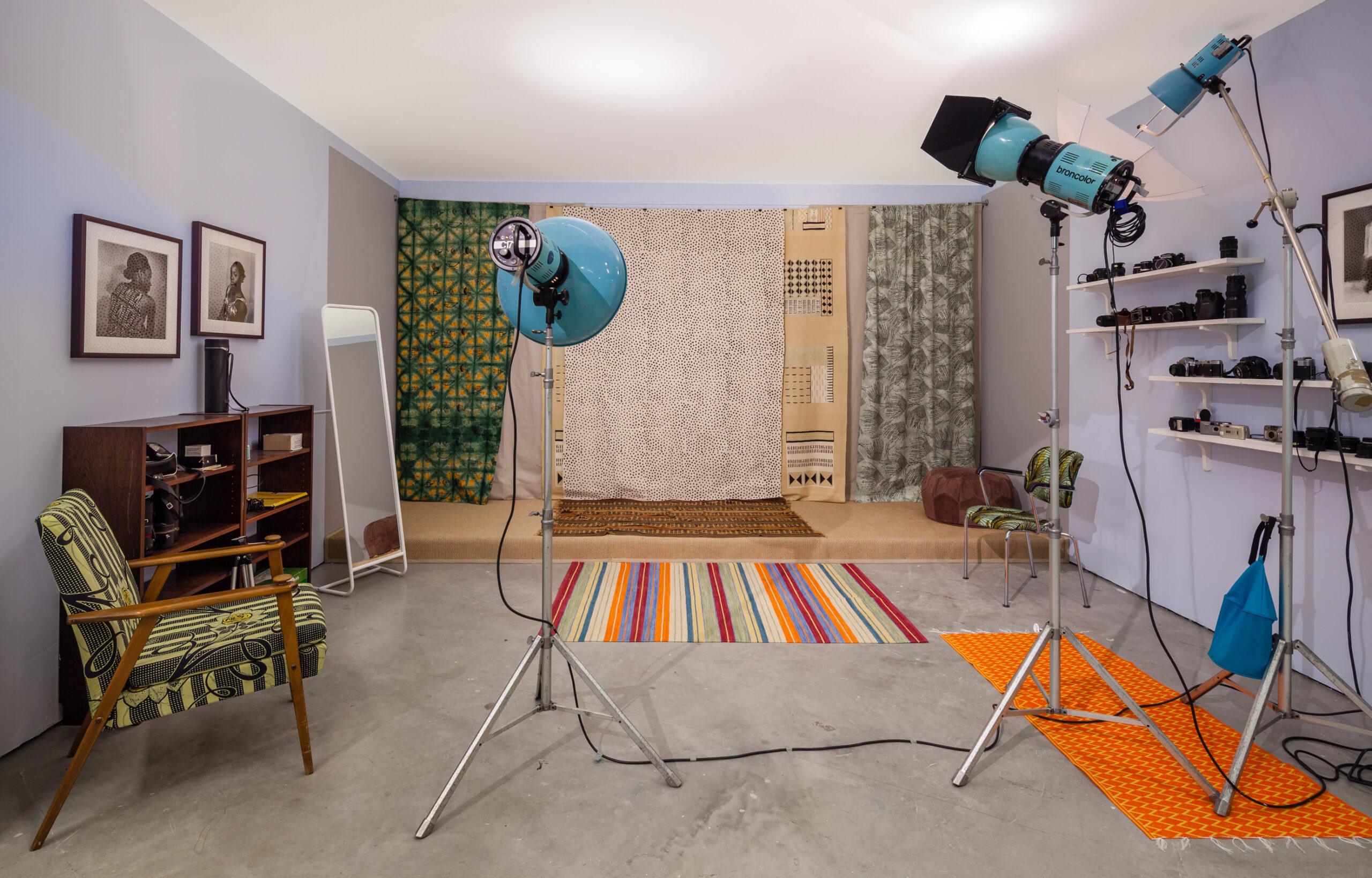 Studio Malick, utställningsfoto: Jean-Baptiste Béranger