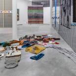 Textila Undertexter, utställningsvy. Foto: Jean-Baptiste Béranger