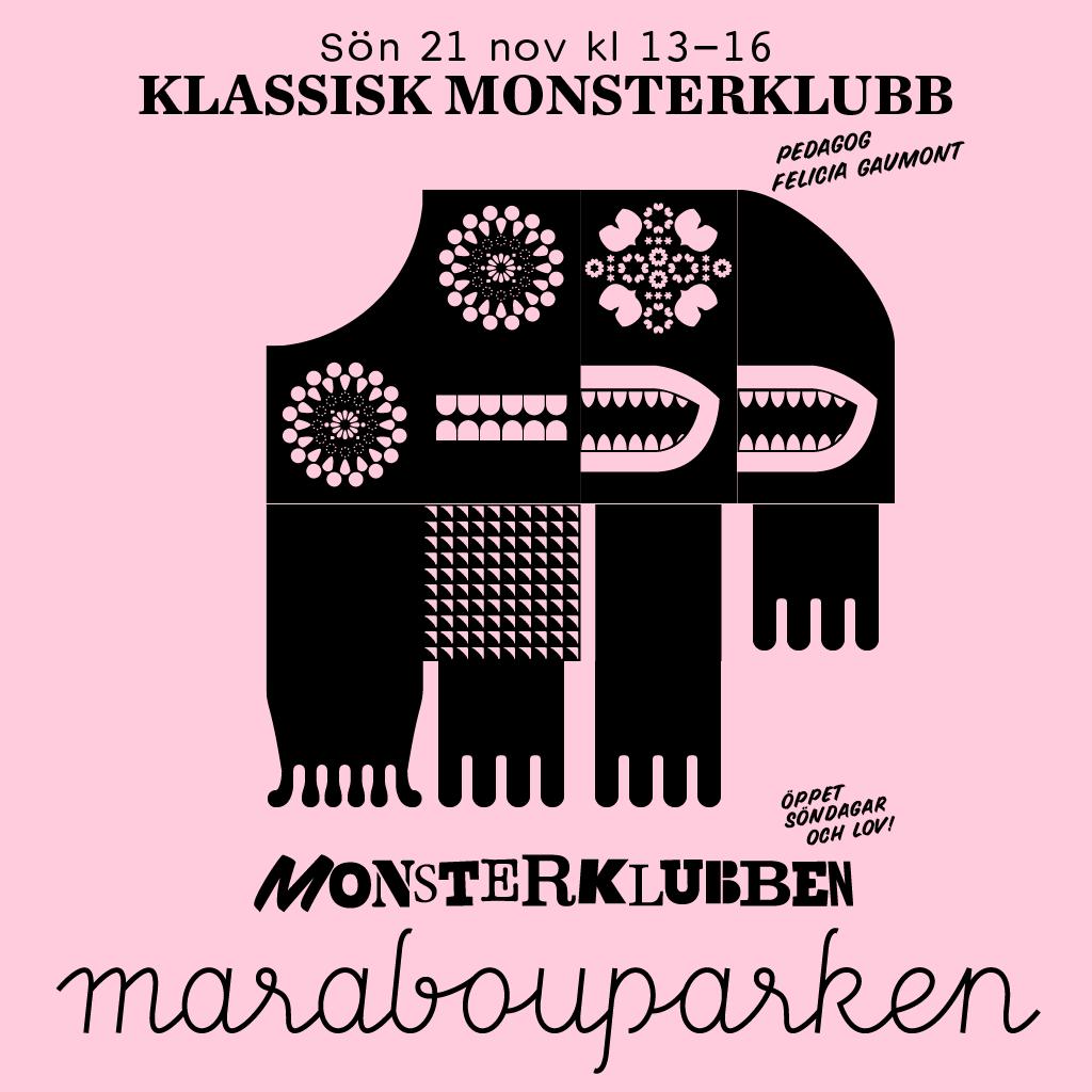 Illustration Klassisk Monsterklubb