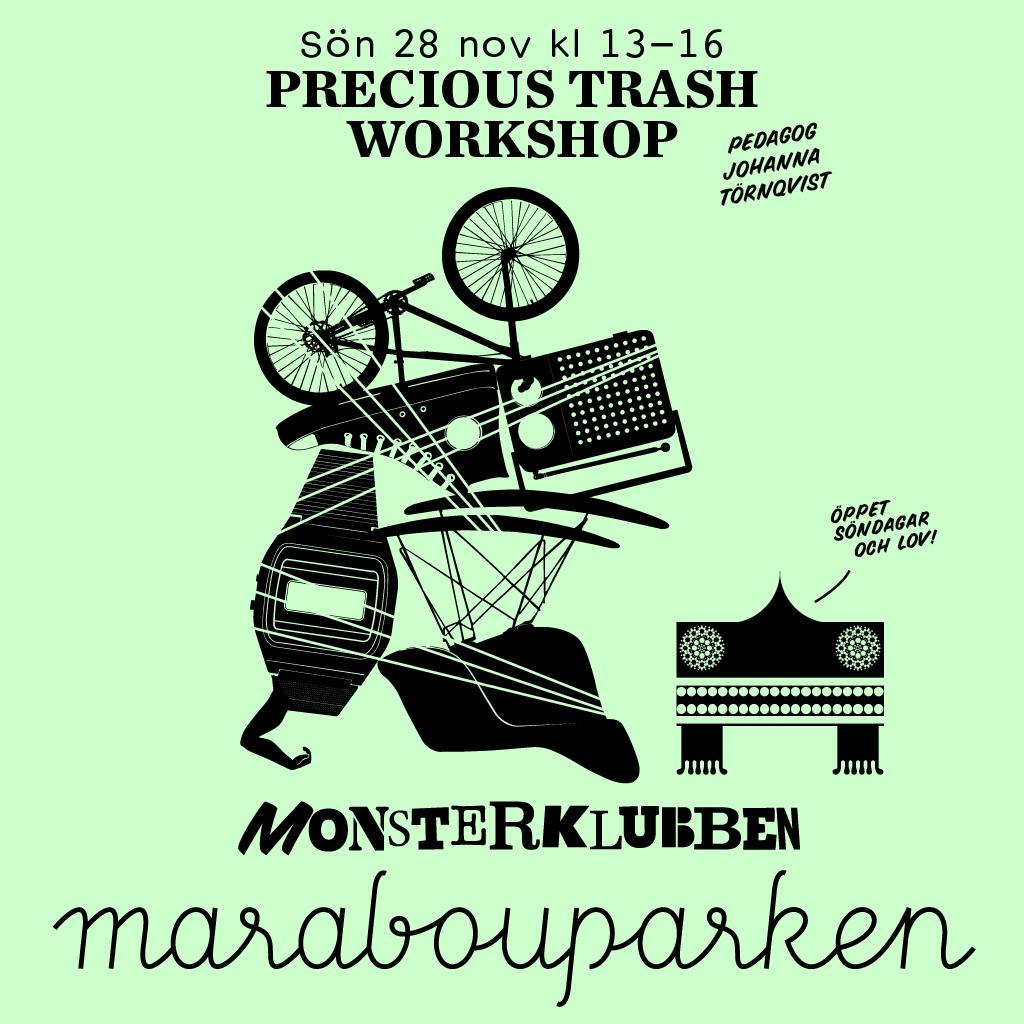 Illustration Precious Trash Workshop